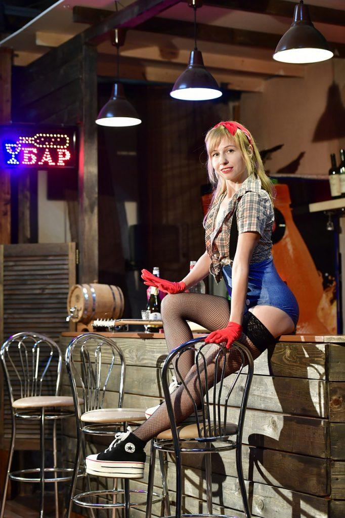 bar stool pose
